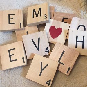 Other - Large Scrabble Tiles